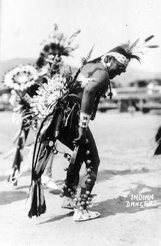 Comanche dancers - circa 1926