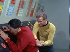 Star Trek Ten For Ward: 10 Favorite Kirk Fight Scenes