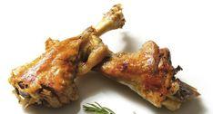 Jarretes de Ternasco de Aragón asados | Recetas 20 Min, Tandoori Chicken, Chicken Wings, Meat, Ethnic Recipes, Food, Gastronomia, Skewers, Beef