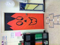 Pumpkin Classroom Door!