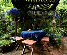 Bohemian Eclectic Decorating | Eclectic Patio Furniture