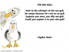 The Sea-Gull by Ogden Nash