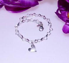 HÅP-A-1625 Charmed, Bracelets, Silver, Jewelry, Fashion, Moda, Jewlery, Jewerly, Fashion Styles