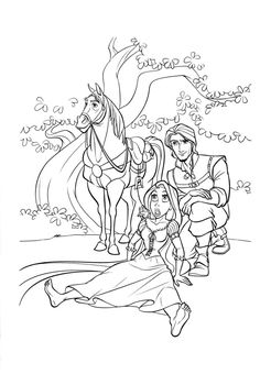 38 Best Tangled Images Tangled Coloring Pages Disney Coloring