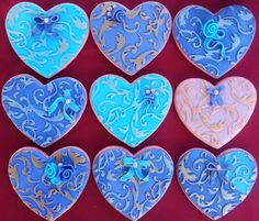 """Heart Cookies a """"Valentine's Treat"""""""