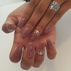 The coco k #nails#nailart#nailfashion#nails#shellac#cocok#swaroski
