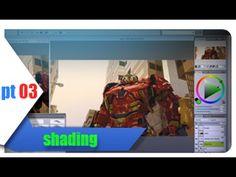 Acompanhe todo meu processo de pintura! Neste vídeo: Shading! (adicionando detalhes) --------------------------------- https://www.youtube.com/user/psdescomp...
