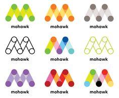 New Identity for Mohawk fine papers. #Logo #Branding #Pentagram
