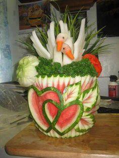 Food Art de frutas y hortalizas