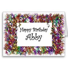 happy birthday abby graphics - Google Search