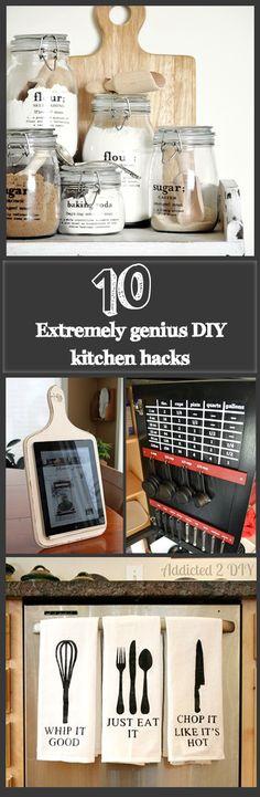 Top 10 Extremely Genius DIY kitchen hacks