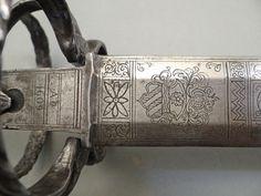 Reitschwert, deutsch datiert 1609 - Objekt Nr. 1138 - Jürgen H. Fricker - Historische Waffen Honhardt