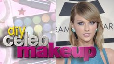 "Blue eye shadow is usually associated with old ladies and the '80s. But Taylor Swift added her own spin to the smoldering look for the 2015 Grammy Awards. We'll show you how to get the look on ""DIY Celeb Makeup."" See more on Wonderwall.com."