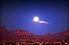 Moon over Bullhead City, Arizona