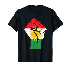 Kurdistan T-Shirt Kurdisch Flagge Kurden T-Shirt: Amazon.de: Bekleidung Kurdistan, Fasion, Cool Shirts, Ali, Sweaters, Mens Tops, Prints, Clothing, Pictures