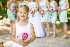 This flower girl is adorable!!! Photo by Jeannine. #minneapolisweddingphotographers #weddingphotographersmn #flowergirl #kidsinweddings