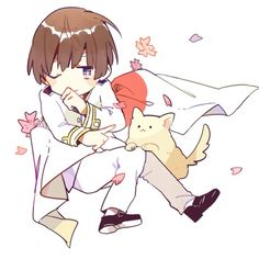 Hetalia (ヘタリア) - Japan (日本). Artist unknown. If you are the artist or know the artist please let me know so I can credit properly or take this art down from my board if you so wish.