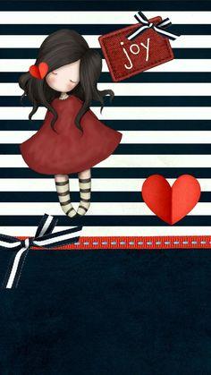 Little Doll, Little Girls, Santoro London, Holly Hobbie, Cute Images, Digi Stamps, Copics, Cute Dolls, Happy Planner