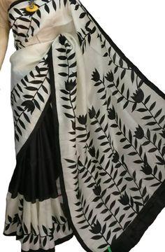Buy Black Handloom Murshidabad Silk Saree-/LWBPSSRI13_Black_Handloom_Murshidabad_Silk_Saree.jpg
