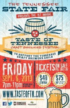 CraftBeer.com http://www.craftbeer.com/news/festival/tennesse-state-fair-announces-taste-of-tennessee-craft-brewers-festival