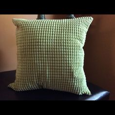 SET OF 2 17x17 pillow covers waffle Set of 2 lime green waffle design 17x17. Hidden zipper great for any room of the houseNew in factory packaging Posh Spaces Other