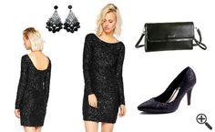 Glitzerkleider, Flora sagte JA: http://www.kleider-deal.de/schwarzes-glitzerkleid-kurz-rueckenfrei-party-outfit/ #Glitzerkleid #Kleider #Schwarz #Outfit #Stil #PartyOutfit #Dress