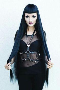 Goth Punk  ❤  color perfect
