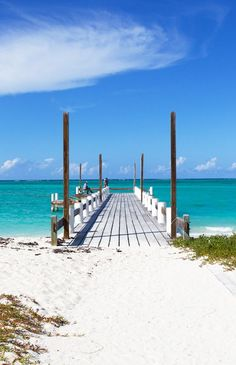 Turks and Caicos. I love this place and want to go back.
