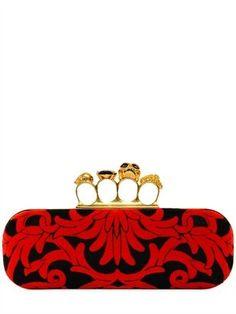 Baroque Knucklebox Clutch Alexander McQueen