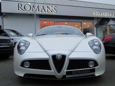 Beautiful AlfaRomeo 8 Competizione for sale here at Romans International!