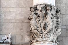 Nők gyönyörű szobrait találjuk mindenütt Budapesten | PestBuda Kuroko, Budapest, Greek, Statue, Art, Art Background, Greek Language, Kunst, Gcse Art