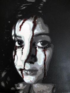 Eli bleeding by ~sykonurse on deviantART