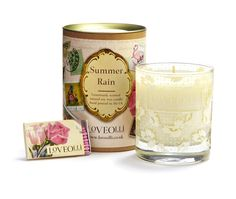 LoveOlli Summer Rain Soy Candle, £19.99