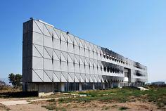 Fachada Edificio de Software IJALTI / LEAP Laboratorio en Arquitectura Progresiva