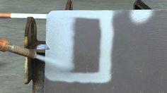 Metal blanco inmediato. Minimo consumo de abrasivo.  Sandblasting ecológico