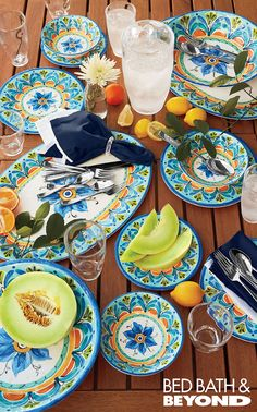 Outdoor Dining Sets and Tumblers with Lid  sc 1 st  Pinterest & Great Design Under $100 | Pinterest | Talavera pottery Dinnerware ...
