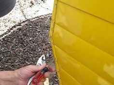 1967 Aristocrat Lo-Liner - Removing the skin of a vintage travel trailer