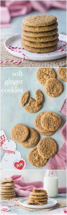 The perfect ginger cookie! These are soft and a little chewy, with a warm spiciness from the ginger and a sparkly, crunchy sugar coating. #BHGCookieExchange: