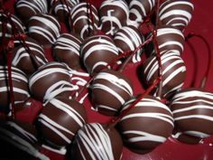 Chocolate Covered Marchino Cherries 24 by SlipsCreativeSweets, $11.00