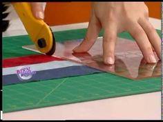 Tutorial cortar tela en tiras