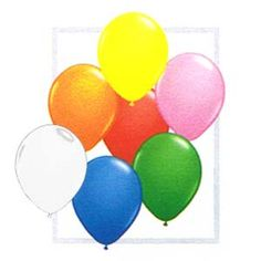qualatex 11 standard assortment with white Qualatex Balloons, Party Supply Store, Bridal Shower, Baby Shower, Childrens Party, Easter Eggs, Party Themes, Party Supplies, Birthdays