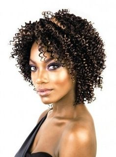 Isis Badu Short Plus Human Hair Jerry Curl 3pcs - Lhboutique.com