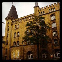 Antiga Fábrica da Cerveja Schultheiss em Moabit.