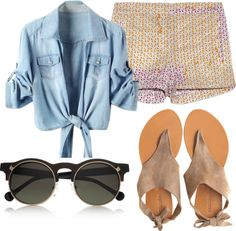 Start of Summer, created by kwil on Polyvore