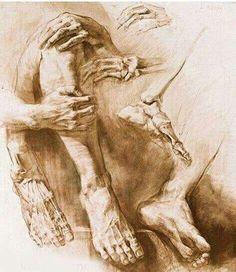 Browsing Traditional Art on DeviantArt Drawing Skills, Life Drawing, Drawing Sketches, Drawings, Drawing Poses, Drawing Ideas, Academic Drawing, Academic Art, Anatomy Drawing