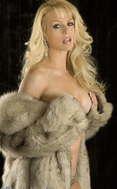 Nude In Fur Coat 19
