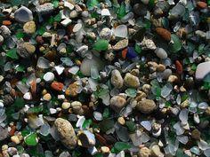 Glass Beach - Laxe, Galicia