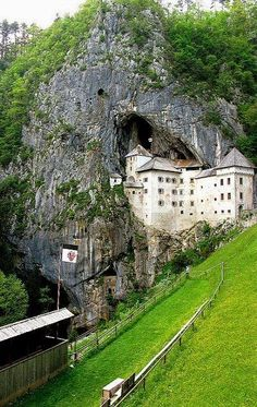 Predjama Castle, Slovenia | visited a couple of summers ago- amazing!