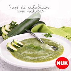 Puré de calabacín con patatas http://bebesnuk.com/pure-de-calabacin-y-patata/