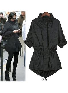 Price tracker and history of Autumn Style Ladies Single Breasted Long  Trench Slim Black Long Sleeve Pokets Women Outwear Trench Coat For Women  Xxxxl e910ec730a1